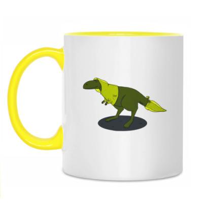 Кружка  Скептический тираннозавр