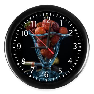 Часы Клубничка к завтраку