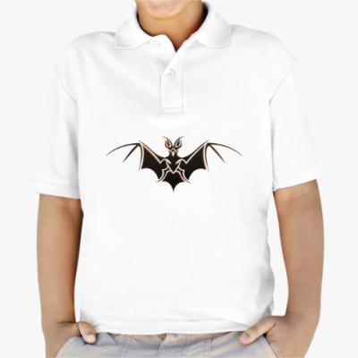 Детская рубашка поло Летучая мышь