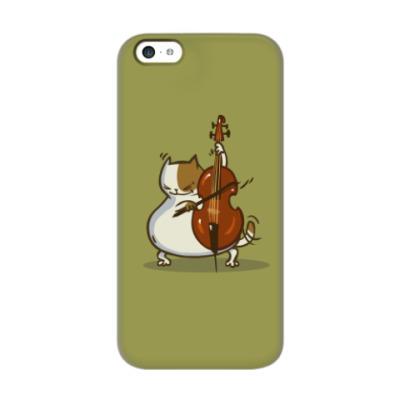 Чехол для iPhone 5c Пятничный Котик №24