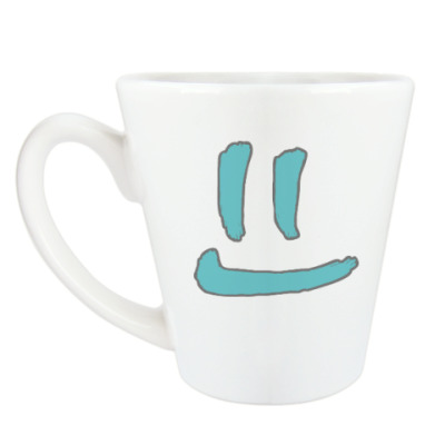 Чашка Латте Чистая улыбка