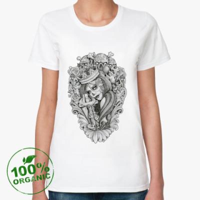 Женская футболка из органик-хлопка Mouses Crown