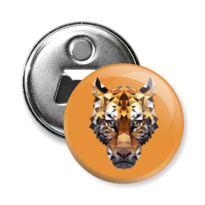 Магнит-открывашка Тигр / Tiger