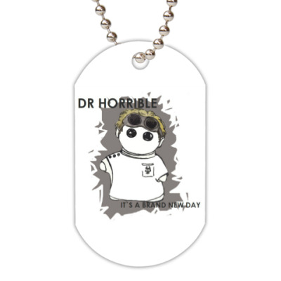 Жетон dog-tag Dr Horrible Neil Patrick Harris