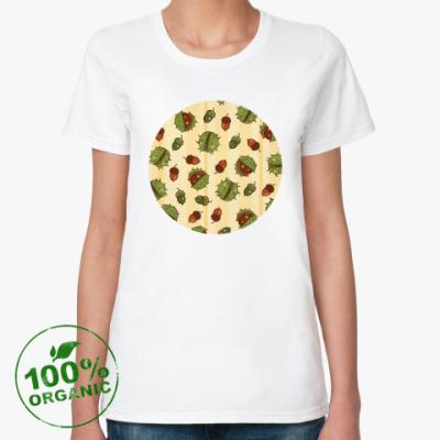 Женская футболка из органик-хлопка Дары природы