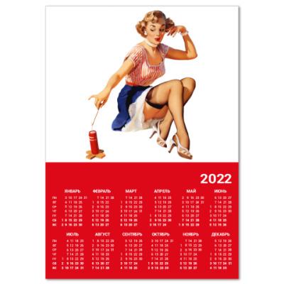 Календарь  A4 Девушка №8*11