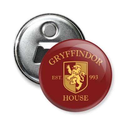 Магнит-открывашка Gryffindor