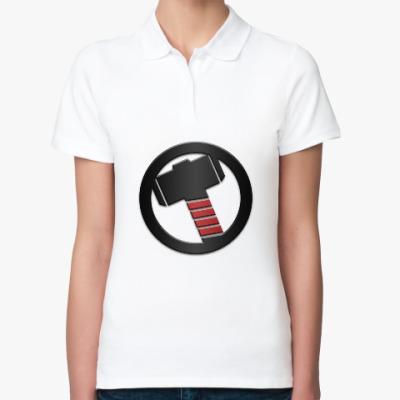 Женская рубашка поло Thor