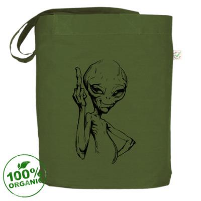 Сумка смешной пришелец (funny alien)