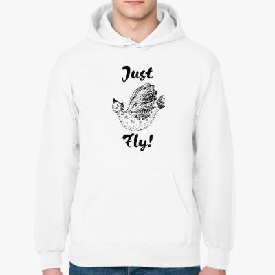 Толстовка худи Just Fly!