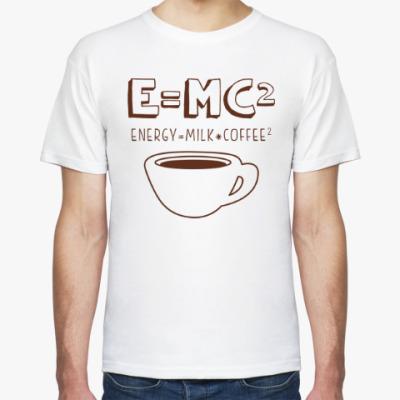 Футболка E=MC2