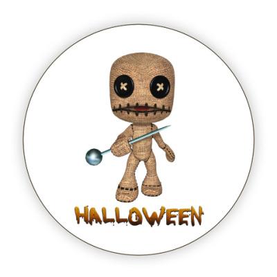 Костер (подставка под кружку) Хеллоуин