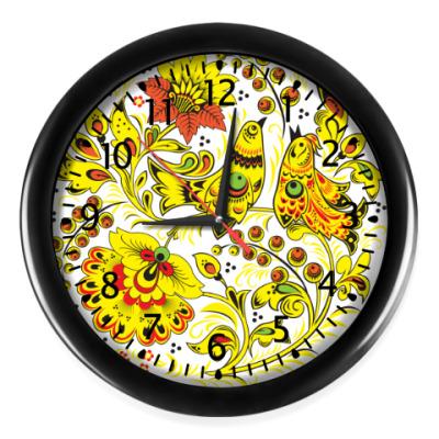 Настенные часы Птички