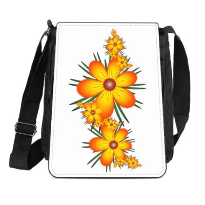 Сумка-планшет Огнецветы