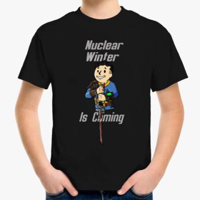 Детская футболка Ядерная Зима Близко