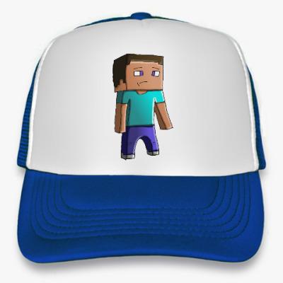 Кепка-тракер Minecraft Steve