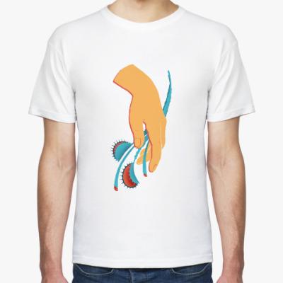 Футболка Нежный цветок — венерина мухоловка (Venus flytrap)