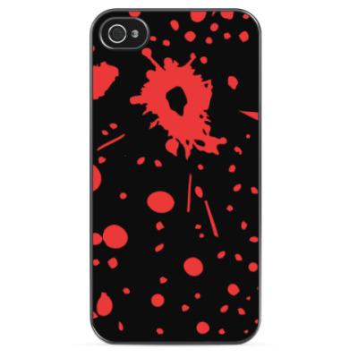 Чехол для iPhone С пулевыми ранениями