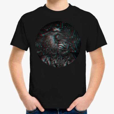 Детская футболка Петух 3D символ 2017 года