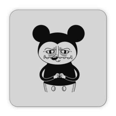 Костер (подставка под кружку) Bad Mickey Mouse