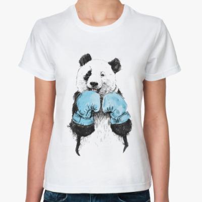 Классическая футболка Панда боксер