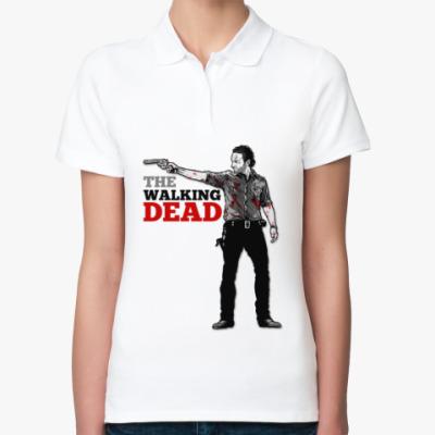 Женская рубашка поло The Walking Dead
