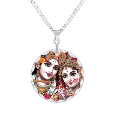 Кулон Радха и Кришна