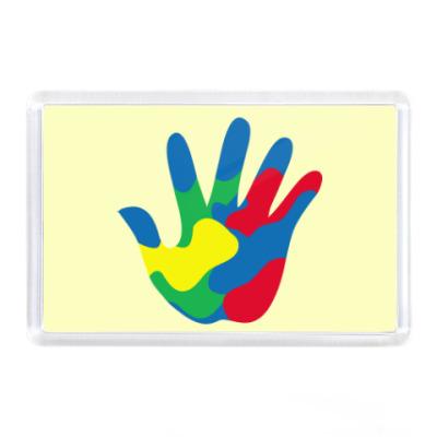 Магнит Отпечаток Руки