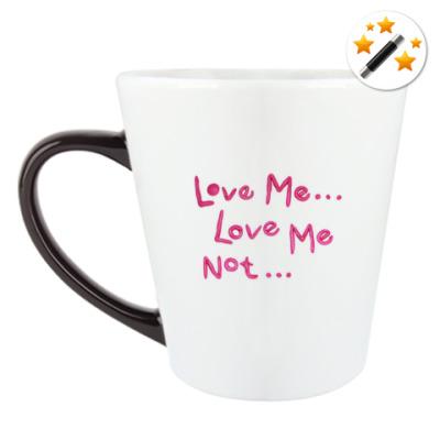 Кружка-хамелеон Love Me..