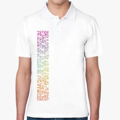 Рубашка поло  'День велосипедиста'