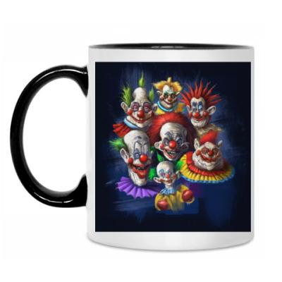 Кружка Клоуны-злодеи