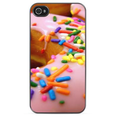 Чехол для iPhone Пончик