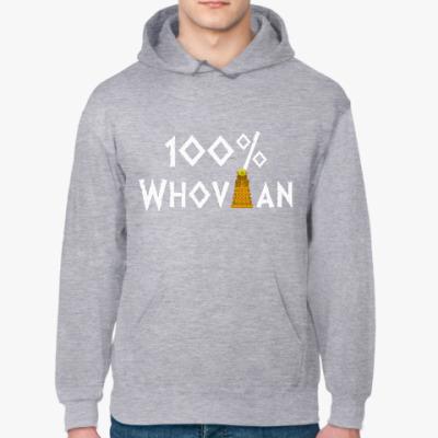 Толстовка худи 100% Whovian Далек Доктор Кто
