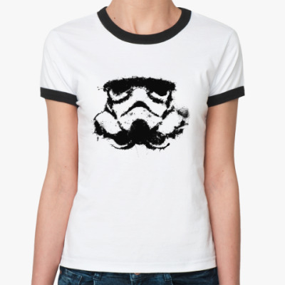 Женская футболка Ringer-T Star Wars: Штурмовик