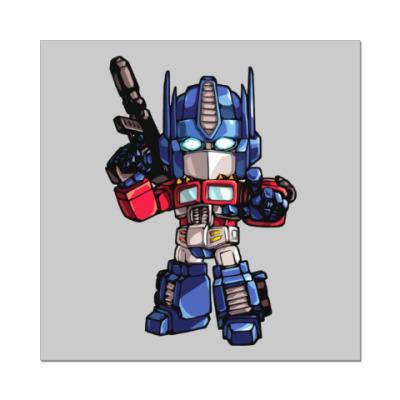 Наклейка (стикер) Optimus Prime