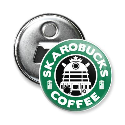 Магнит-открывашка Skaro Coffee DOCTOR WHO Dalek