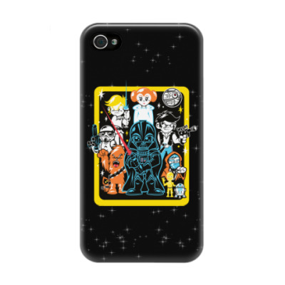 Чехол для iPhone 4/4s Star Wars