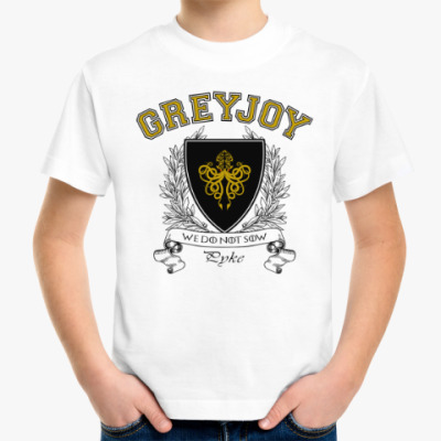 Детская футболка House Greyjoy