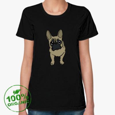 Женская футболка из органик-хлопка DOOSYA LOVE COLOR
