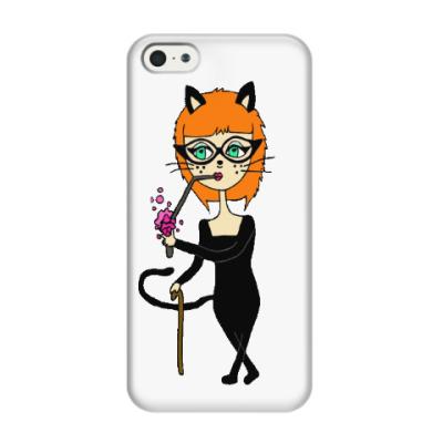 Чехол для iPhone 5/5s Кошечка