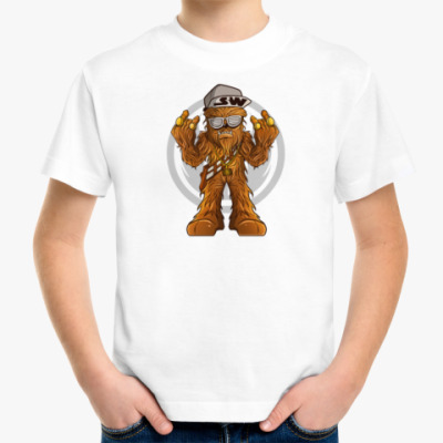 Детская футболка Чубакка