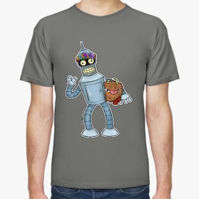 """Футболка Мужская футболка """"Bender"""""""