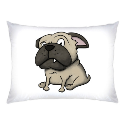 Подушка grumpy dog