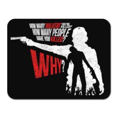 Коврик для мыши Walking Dead Ходячие мертвецы