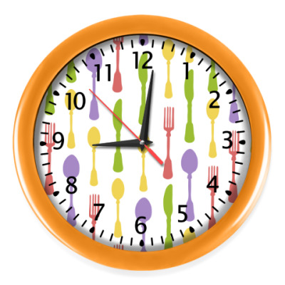 Настенные часы Ланч