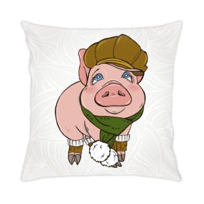 Подушка Год свиньи