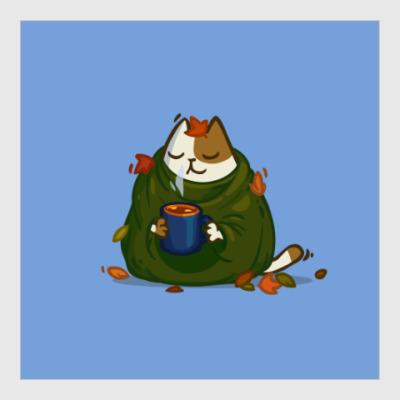 Постер Пятничный Котик №23