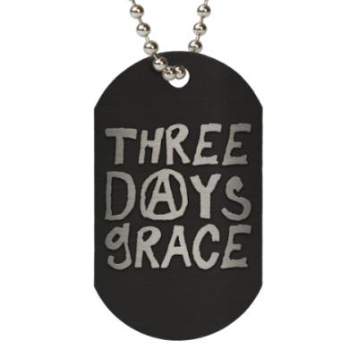 Жетон dog-tag Three Days Grace