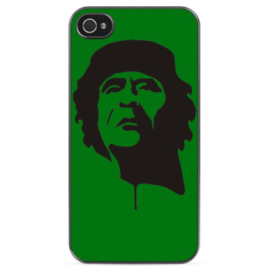 Чехол для iPhone Каддафи зеленая книга