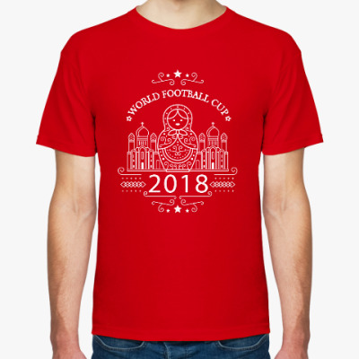 Футболка Чемпионат мира по футболу в России 2018